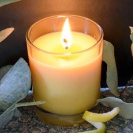 Bougie d'été - Citronnelle & Eucalyptus citronné [VIDEO JOLI'ESSENCE]